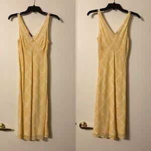 Theory Aphrodite Cotton Floral Dress